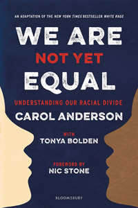 WE ARE NOT YET EQUAL